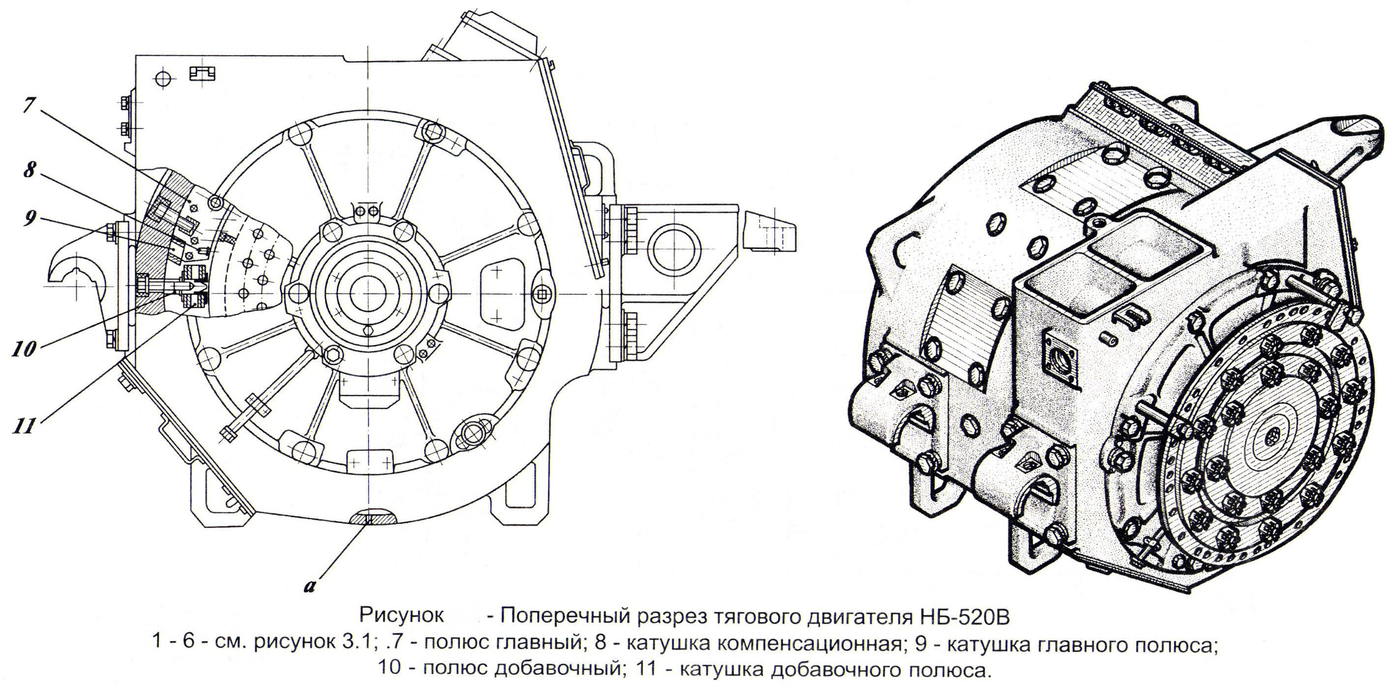 Схема включения двигателя с фазным ротором